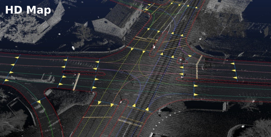 Many different approaches to Robocar Mapping