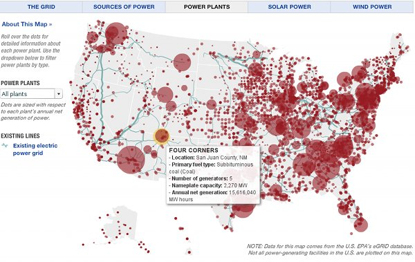 Great Power Graphic Tells Us Put Solar Power In New Mexico But - Solar power map us